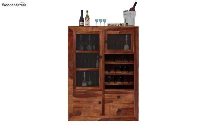 Carvel Bar Cabinet (Teak Finish)-2