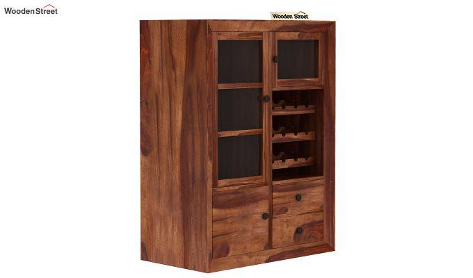 Carvel Bar Cabinet (Teak Finish)-5