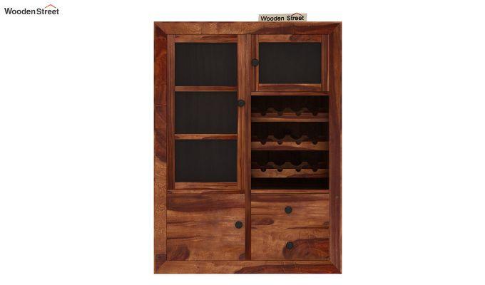 Carvel Bar Cabinet (Teak Finish)-6