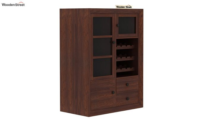 Carvel Bar Cabinet (Walnut Finish)-6