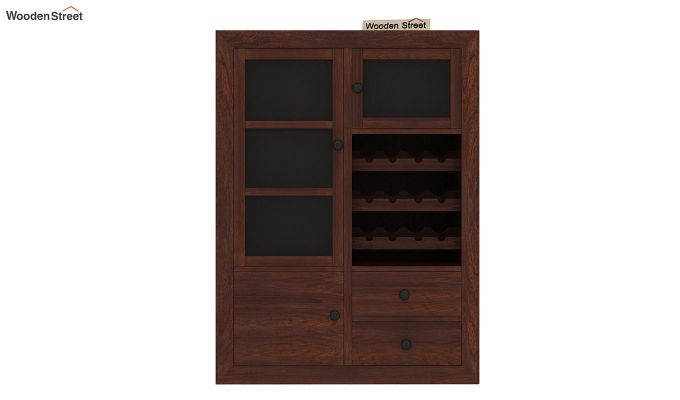 Carvel Bar Cabinet (Walnut Finish)-7