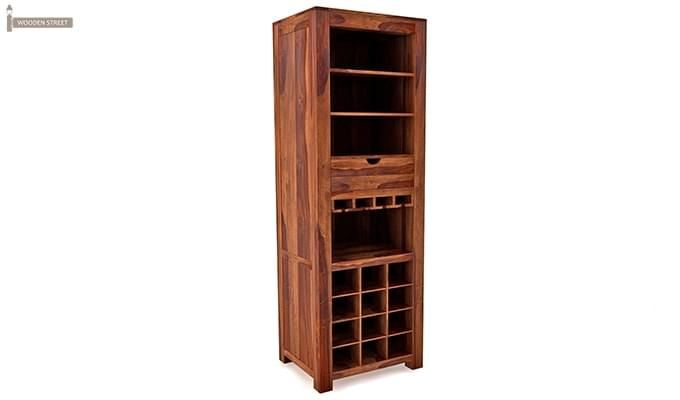 Cary Bar Cabinet (Teak Finish)-1