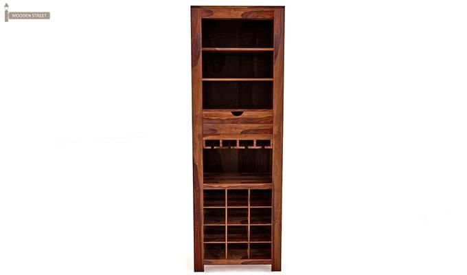 Cary Bar Cabinet (Teak Finish)-3