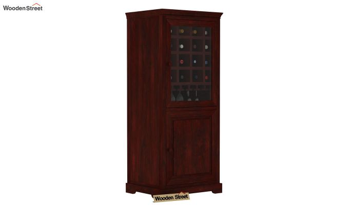 Charles Bar Cabinet (Mahogany Finish)-1
