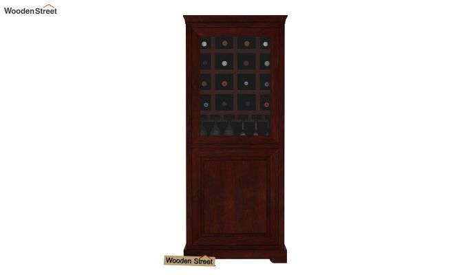 Charles Bar Cabinet (Mahogany Finish)-2
