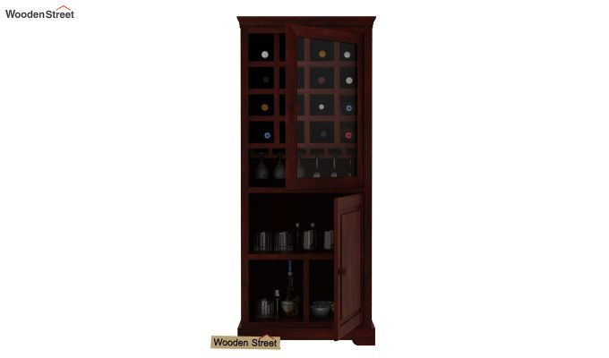Charles Bar Cabinet (Mahogany Finish)-3