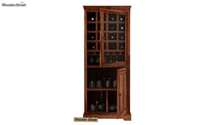 Charles Bar Cabinet (Teak Finish)-3