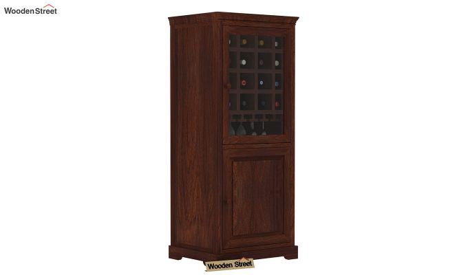 Charles Bar Cabinet (Walnut Finish)-1