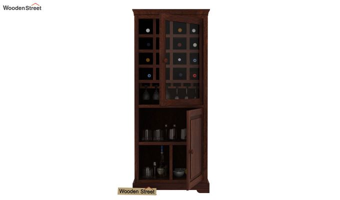 Charles Bar Cabinet (Walnut Finish)-3