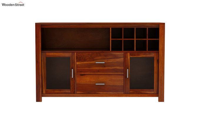 Cory Bar Cabinet (Honey Finish)-4