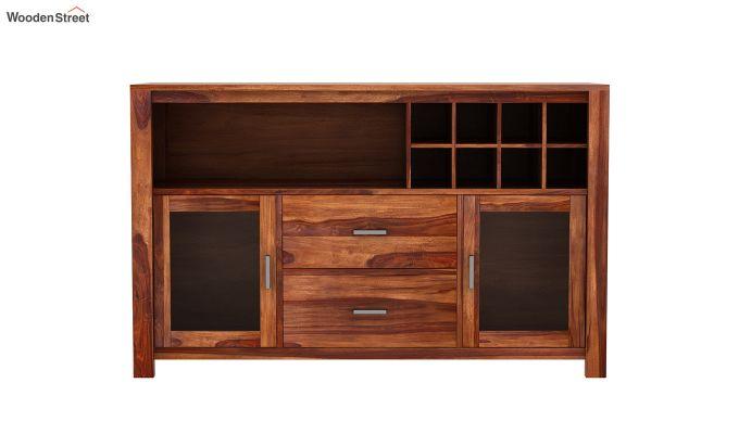 Cory Bar Cabinet (Teak Finish)-4