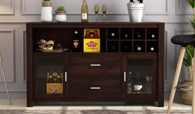 Cory Bar Cabinet (Walnut Finish)-2