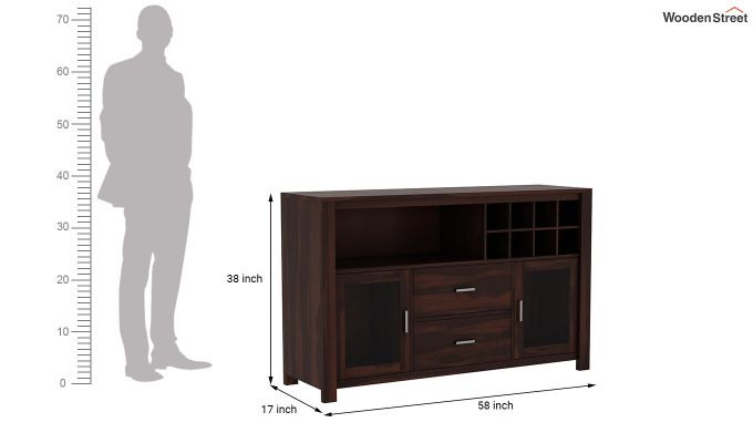 Cory Bar Cabinet (Walnut Finish)-7