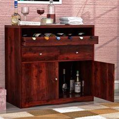Cowan Bar Cabinet (Mahogany Finish)