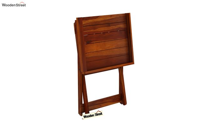 Delroy Bar Cabinet (Honey Finish)-10