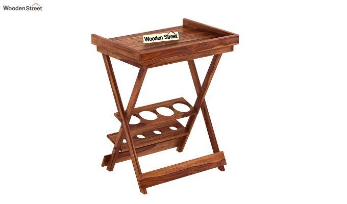 Delroy Bar Cabinet (Teak Finish)-3