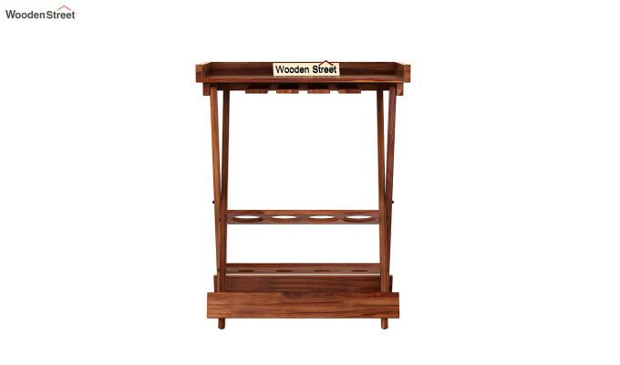 Delroy Bar Cabinet (Teak Finish)-6