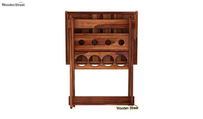 Delroy Bar Cabinet (Teak Finish)-7