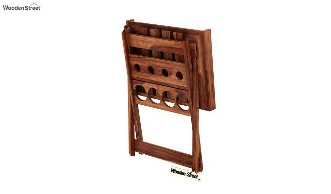 Delroy Bar Cabinet (Teak Finish)-8