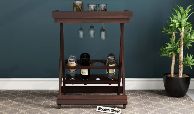 Delroy Bar Cabinet (Walnut Finish)-2