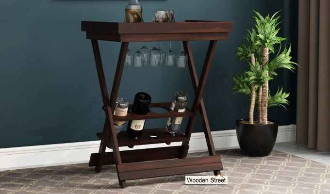 Delroy Bar Cabinet (Walnut Finish)-1