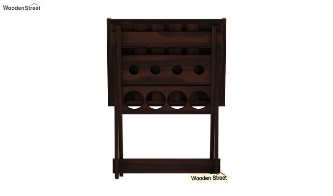 Delroy Bar Cabinet (Walnut Finish)-7