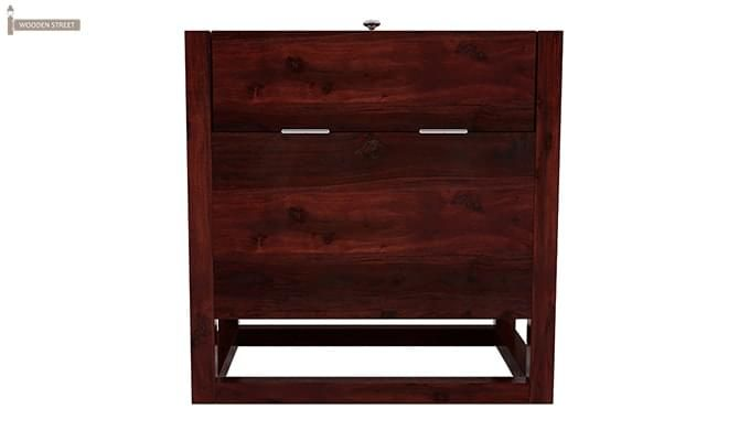Dumont Bar Cabinet (Mahogany Finish)-3