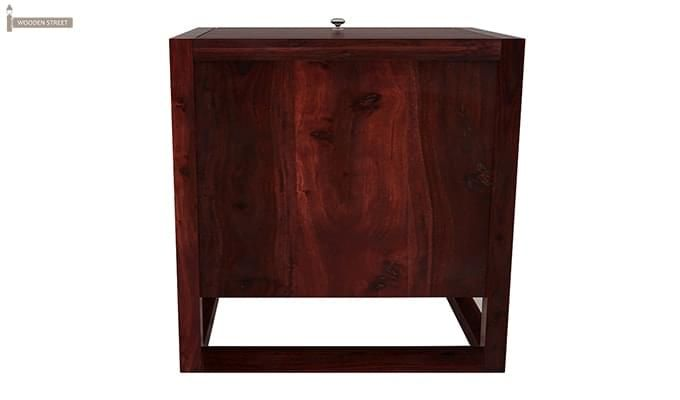 Dumont Bar Cabinet (Mahogany Finish)-7