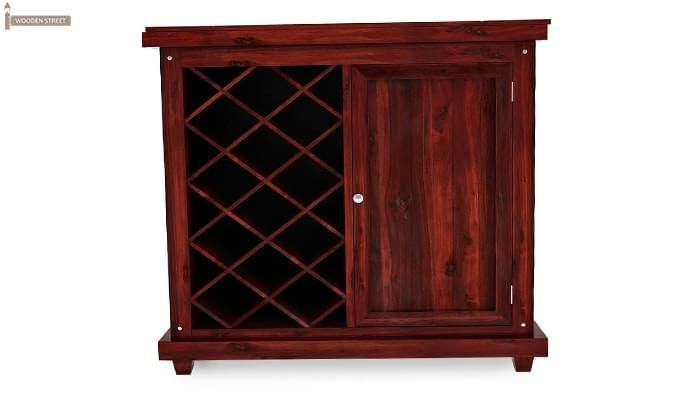 Edmis Bar Cabinet (Mahogany Finish)-3