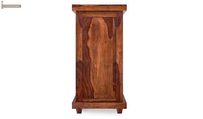 Edmis Bar Cabinet (Teak Finish)-5