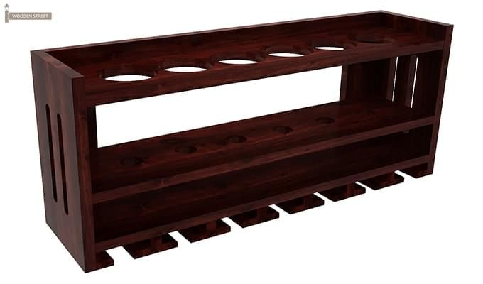 Elanor Wine Rack (Mahogany Finish)-2