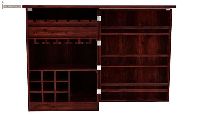 Ester Bar Cabinet (Mahogany Finish)-4
