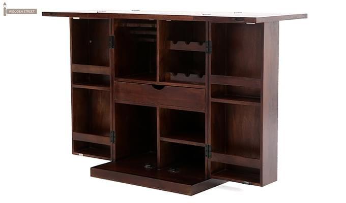 Felisa Bar Cabinet (Walnut Finish)-10