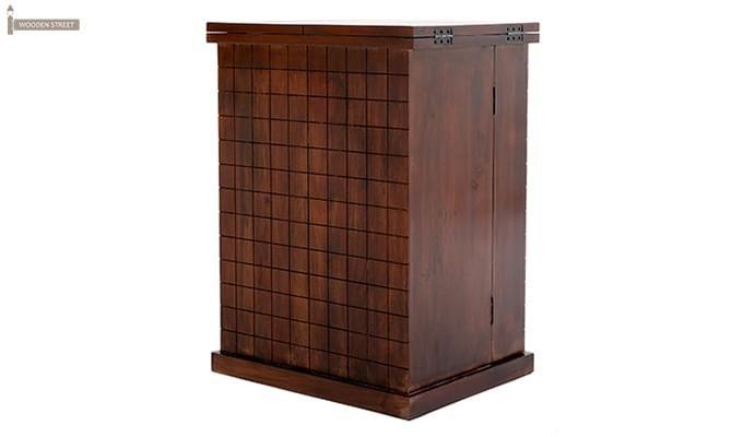 Felisa Bar Cabinet (Walnut Finish)-11