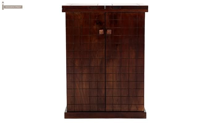 Felisa Bar Cabinet (Walnut Finish)-5