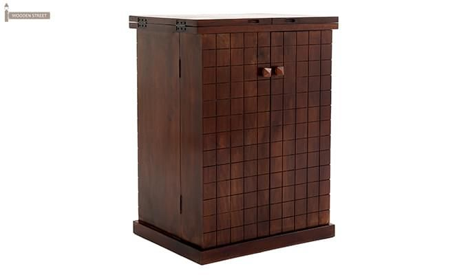 Felisa Bar Cabinet (Walnut Finish)-6