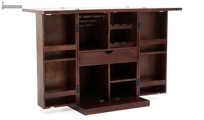Felisa Bar Cabinet (Walnut Finish)-8
