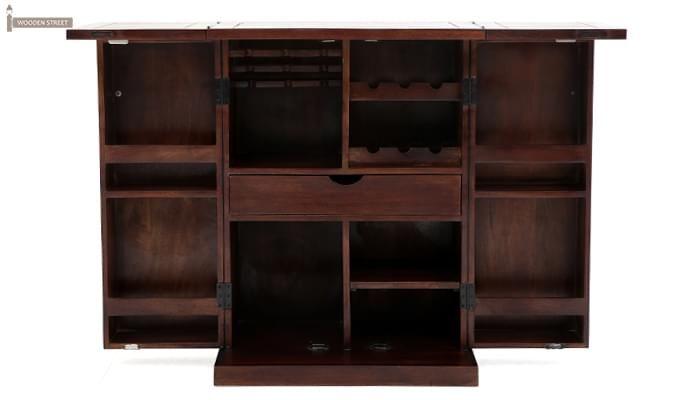 Felisa Bar Cabinet (Walnut Finish)-9