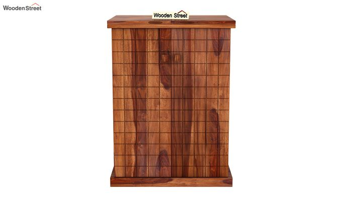 Felisa Bar Cabinet (Teak Finish)-4