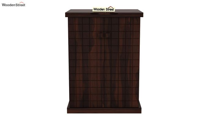 Felisa Bar Cabinet (Walnut Finish)-4