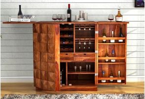 Bar Cabinet Buy Wooden Bar Cabinets In India At 55 Off