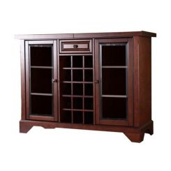 Grant Bar Cabinet (Honey Finish)