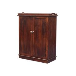 Hampton Bar Cabinet (Honey Finish)