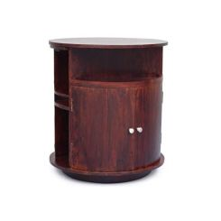Jestin Bar Cabinet (Walnut Finish)