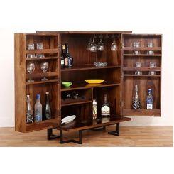 Zimer Cabinet (Teak Finish)
