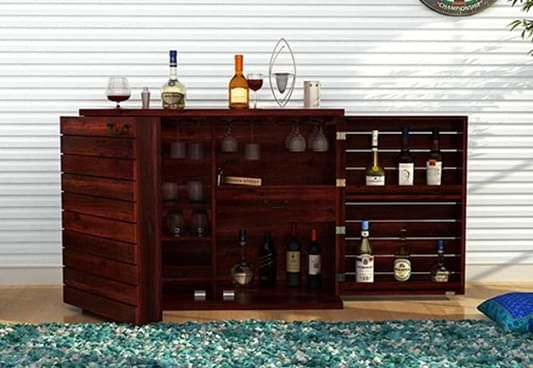 Bar Cabinets Designs Online India
