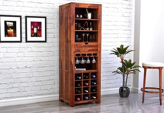 small bar cabinet for home online India
