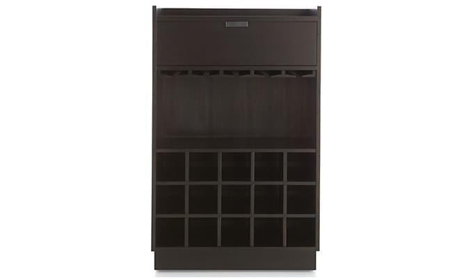 Garnetz Bar Cabinet (Black Finish)-4