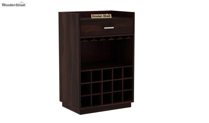 Garnetz Bar Cabinet (Walnut Finish)-3