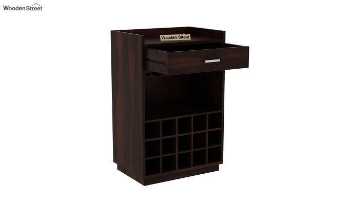 Garnetz Bar Cabinet (Walnut Finish)-5